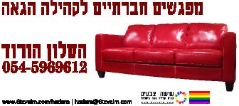 הסלון הורוד - קבוצה חברתית של הקהילה הגאה בחדרה